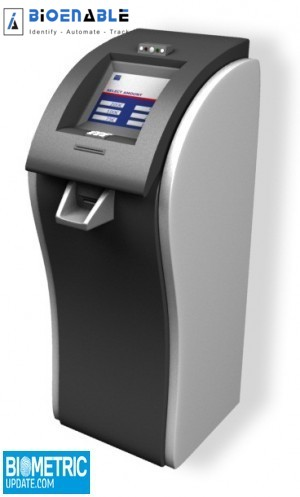 BioEnable Technologies launches newest biometric kiosks – In Biometricupdate